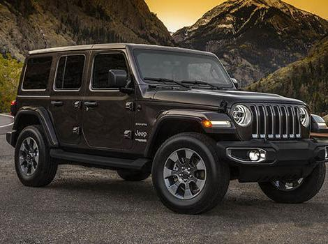 2021 Jeep Wrangler lease special